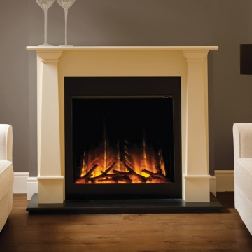 Flamerite Bronte With Gotham 750 Electric Fireplace Suite